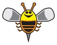 Happy Cartoon Bee Royalty Free Stock Photos