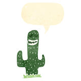 Happy cartoon cactus Stock Photo