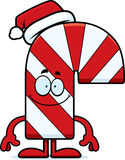 Happy Cartoon Candy Cane Royalty Free Stock Photos