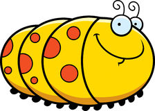 Happy Cartoon Caterpillar Royalty Free Stock Image