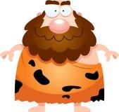 Happy Cartoon Caveman Stock Photo
