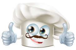 Happy cartoon chef character Royalty Free Stock Photography