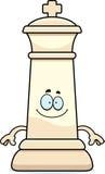 Happy Cartoon Chess King Stock Photo