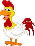 Happy cartoon chicken posing. Illustration of Happy cartoon chicken posing Stock Photos