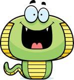 Happy Cartoon Cobra Royalty Free Stock Image