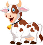 Happy cartoon cow Stock Photo