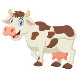 Happy cartoon cow Royalty Free Stock Photo