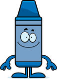 Happy Cartoon Crayon Royalty Free Stock Image