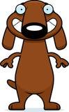 Happy Cartoon Dachshund Royalty Free Stock Photography