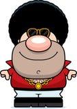 Happy Cartoon Disco Guy Stock Photo