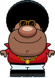 Happy Cartoon Disco Man Stock Images