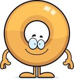 Happy Cartoon Doughnut Royalty Free Stock Images
