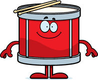 Happy Cartoon Drum Royalty Free Stock Photo