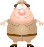 Happy Cartoon Explorer Stock Images