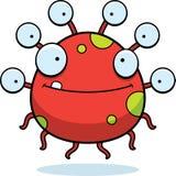 Happy Cartoon Eyeball Monster Royalty Free Stock Image