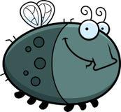 Happy Cartoon Fly Royalty Free Stock Image