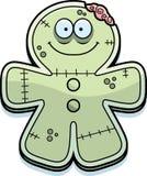 Happy Cartoon Gingerbread Zombie Royalty Free Stock Photography