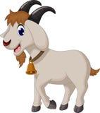 Happy  cartoon goat Stock Photography