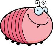 Happy Cartoon Grub Stock Images