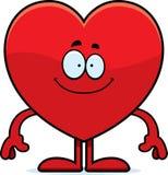 Happy Cartoon Heart Royalty Free Stock Images