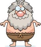 Happy Cartoon Hermit Royalty Free Stock Image