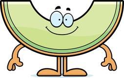 Happy Cartoon Honeydew Stock Images