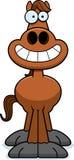 Happy Cartoon Horse Stock Photos