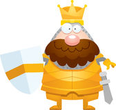 Happy Cartoon King Royalty Free Stock Photography