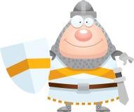 Happy Cartoon Knight vector illustration