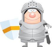 Happy Cartoon Knight Royalty Free Stock Photos