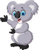 Happy cartoon koala Royalty Free Stock Images