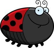 Happy Cartoon Ladybug Stock Images
