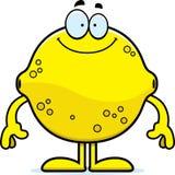 Happy Cartoon Lemon Royalty Free Stock Images