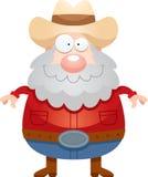 Happy Cartoon Miner Royalty Free Stock Photography