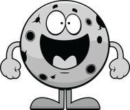 Happy Cartoon Moon Royalty Free Stock Photos