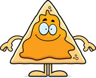 Happy Cartoon Nachos Stock Image