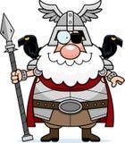 Happy Cartoon Odin Royalty Free Stock Photography
