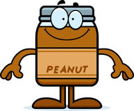 Happy Cartoon Peanut Butter Royalty Free Stock Images