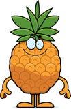 Happy Cartoon Pineapple Stock Photos