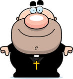Happy Cartoon Priest Royalty Free Stock Images