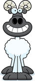 Happy Cartoon Ram Royalty Free Stock Image