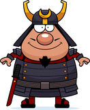 Happy Cartoon Samurai Royalty Free Stock Images