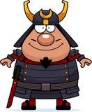 Happy Cartoon Samurai Royalty Free Stock Images
