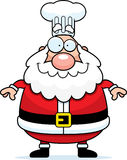 Happy Cartoon Santa Claus Chef Royalty Free Stock Images