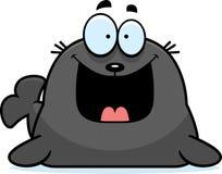 Happy Cartoon Seal Stock Photos