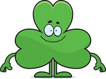Happy Cartoon Shamrock Royalty Free Stock Images