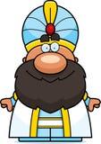 Happy Cartoon Sultan Stock Image