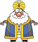 Happy Cartoon Sultan Royalty Free Stock Photos