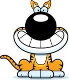 Happy Cartoon Tasmanian Tiger Royalty Free Stock Photo