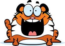 Happy Cartoon Tiger Stock Image